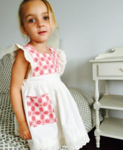 Red White Country Dress