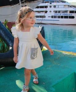 Anchor Pinafore Dress Japan