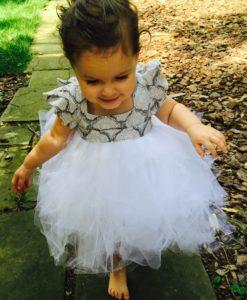 pinafore girld dress