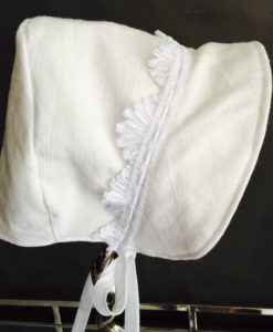Handmade Bonnets - Baby Bonnet Vintage Custom Made to Order