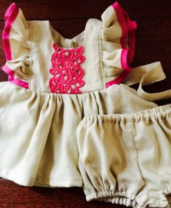 Vintage Inspired Children's Clothes. Children's Handmade Vintage Apparel. Shop Dresses, Bloomers, Rompers for Kids, Babies, and Toddlers.