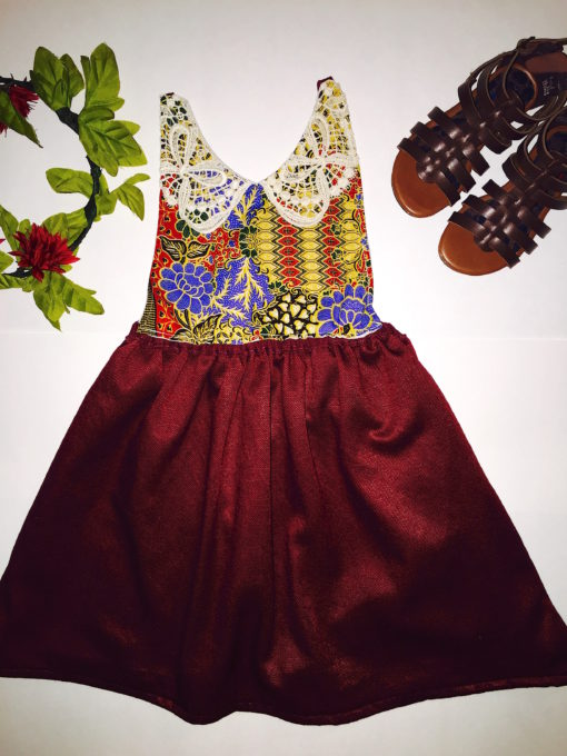 Vintage Girls Dress Handmade Vintage Apparel for Girls Kids Toddlers Babies