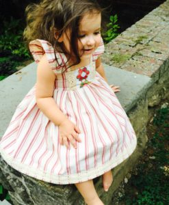 Apple Crumble Pinafore Dress