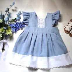 Southern Style Dress. Handmade Vintage Apparel for Children, Girls, and Toddlers. Kids Clothing including Dresses, Bloomers, Rompers and Outfits.