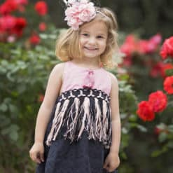 Boho Dress for Girls. Vintage Handmade Items for Children. Family Keepsake Apparel for Girls, Toddlers, and Babies including Rompers, Dresses, and Rompers.