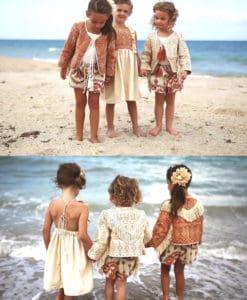 Magnolia Lake Clothing Summer Girls Handmade Vintage Dresses Boho Fall Collection