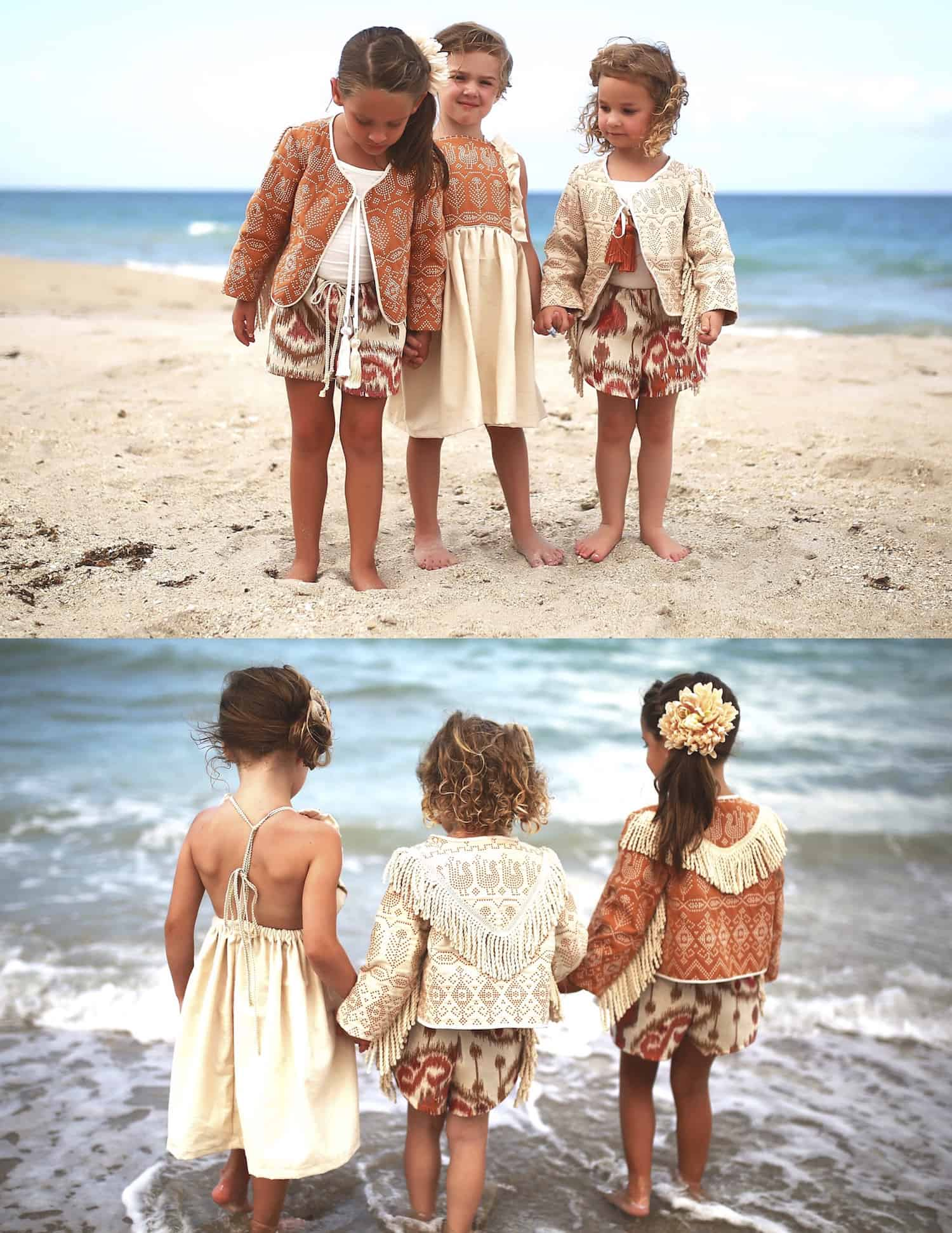 aec28deb51692 Magnolia Lake Clothing Summer Girls Handmade Vintage Dresses Boho Fall  Collection