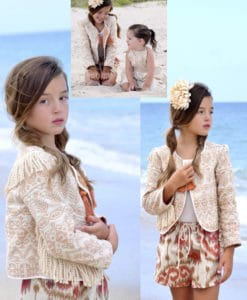 Beigh Jacket Boho Bolero Magnolia Lake Clothing Summer Girls Handmade Vintage Dress Boho Fall Collection