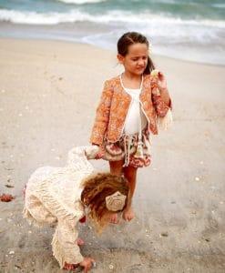 Sienna Jacket Handmade Vintage Bolero Jacket Magnolia Lake Clothing Summer Girls Dresses