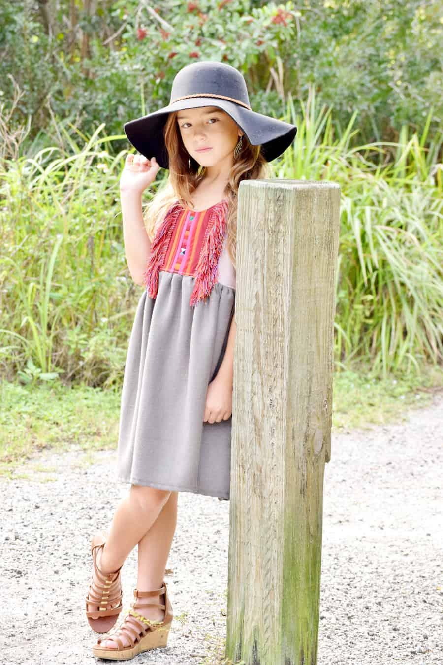boutique girls hats