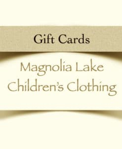 Magnolia Lake Clothing Gift Cards