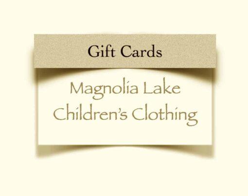 Magnolia Lake Clothing Gift Cards
