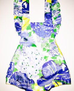 new blue lilly romper