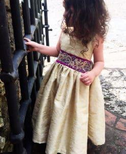 JASMINE GOLD DRESS 2