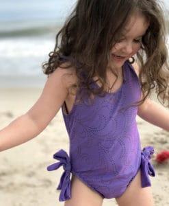 Purple Twirl Swimsuit 2