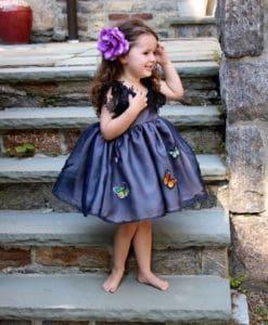 Madame butterfly girls dress