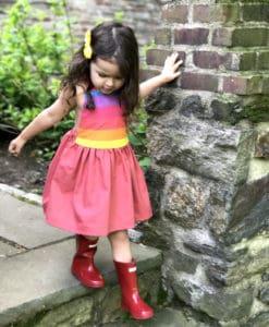 Rainbow dreaming dress