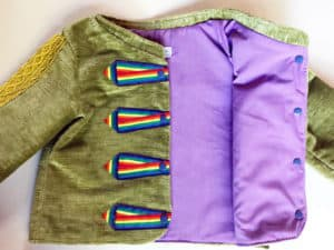 Nutcracker Jacket for Girls